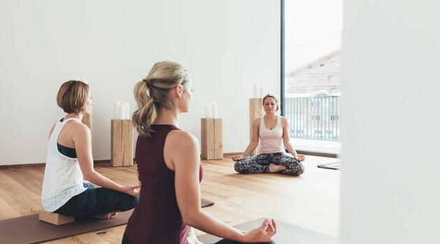 Yoga-Kurse im Urlaub im Wellnesshotel Nesslerhof in Großarl