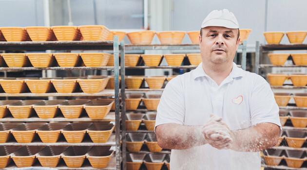 Selbstgemachtes Brot vom Bäcker aus Großarl