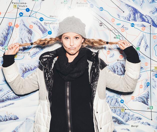 Skiurlaub im Großarltal: Pistenplan Skigebiet Großarl
