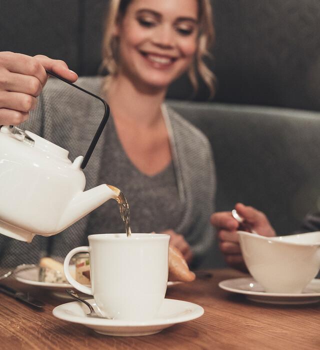 Teatime im Hotel Nesslerhof