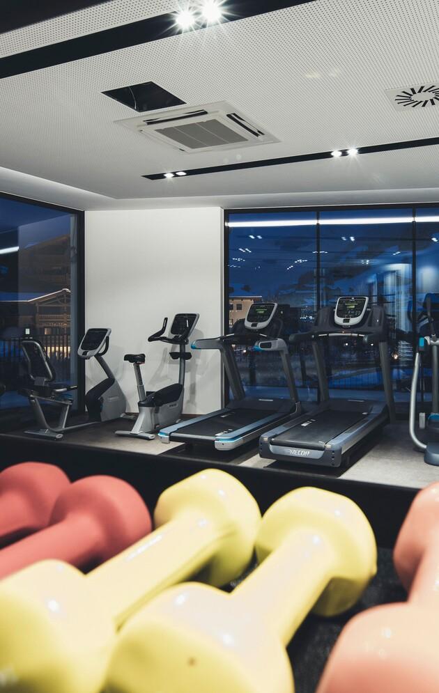 Fitness im Urlaub im Hotel Nesslerhof