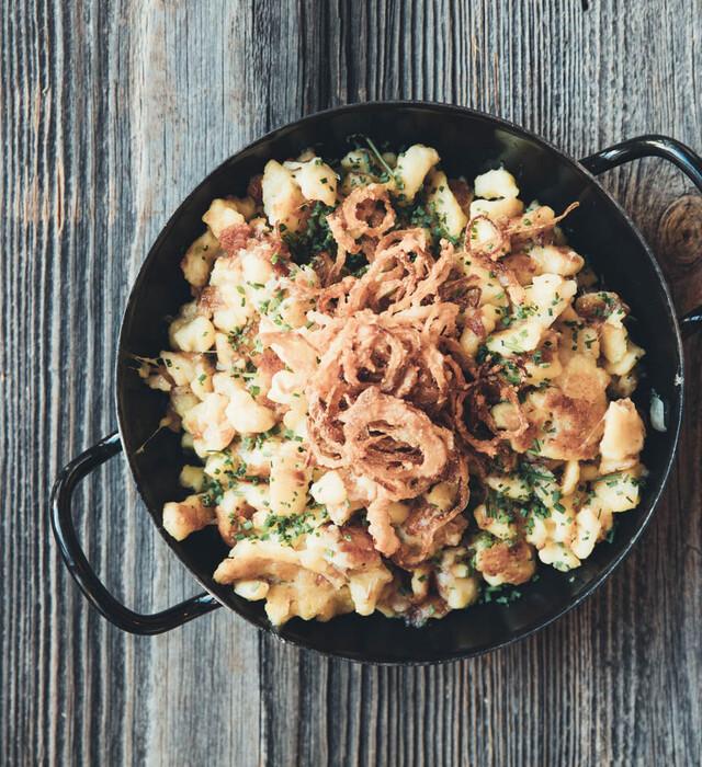 Rezept aus der Nesslerhof-Küche in Großarl - Pongauer Kasnocken