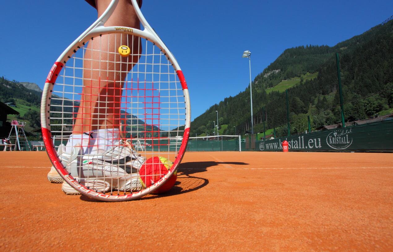 Tennisplatz nahe dem Hotel Nesslerhof, Großarl