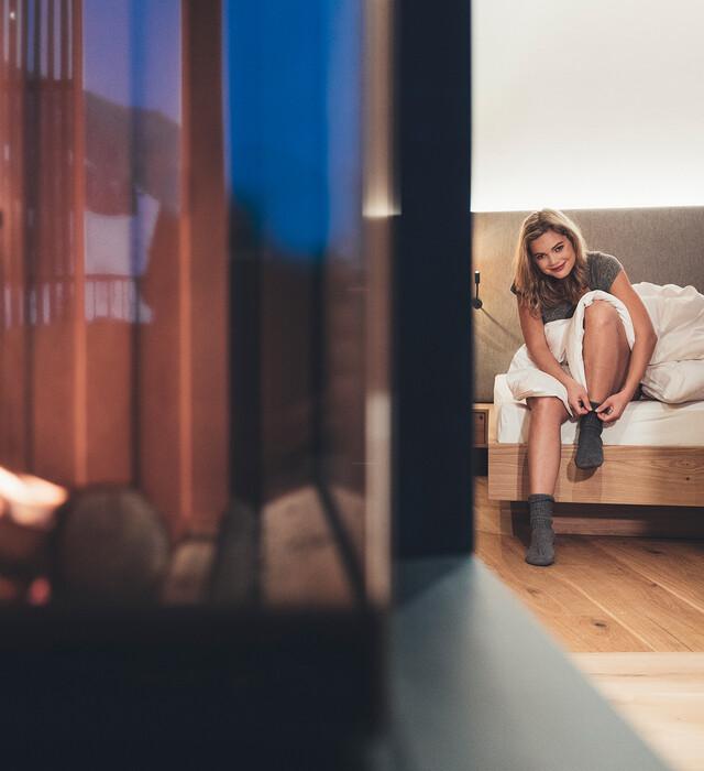 Romantische Suiten im Hotel Nesslerhof