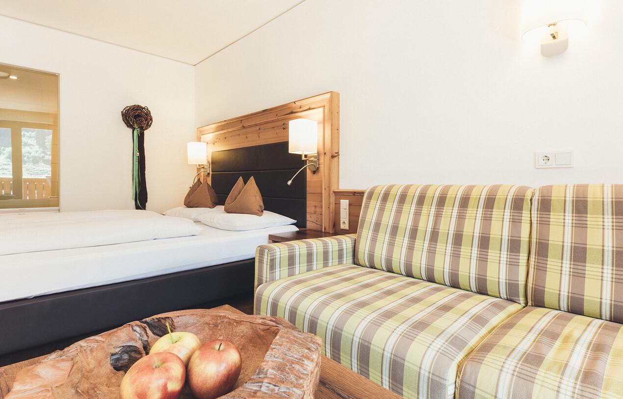 Großzügige Badezimmer im Hotel Nesslerhof