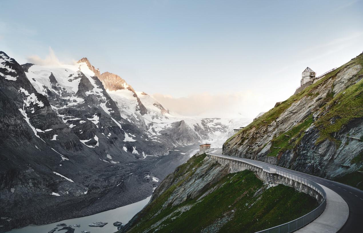 Großglockner Hochalpenstrasse im Salzburger Land